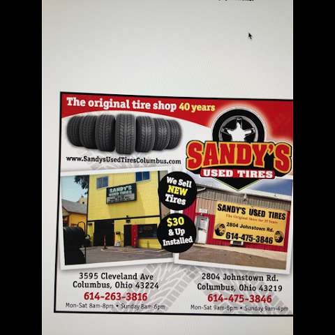 Used Tires Columbus Ohio >> Sandy S Used Tires At 3595 Cleveland Avenue In Columbus Ohio